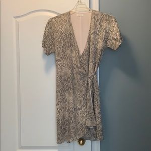 Aritzia wrap dress
